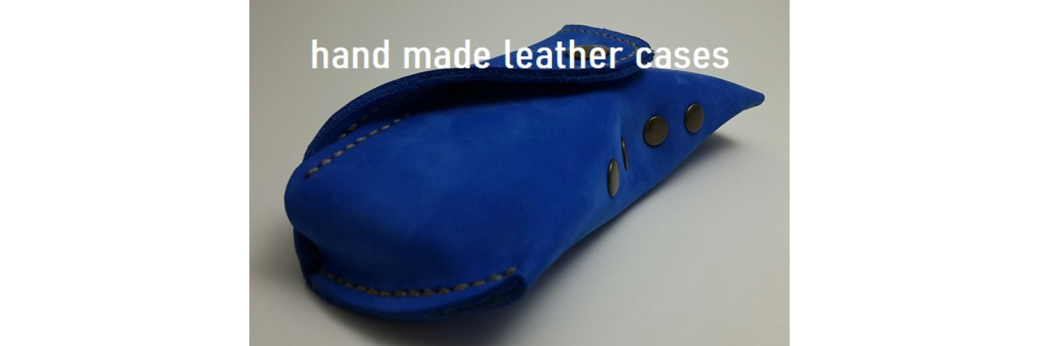 Hand made leather cases